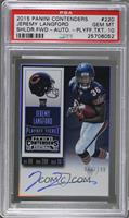 Rookie Ticket RPS - Jeremy Langford (Base) [PSA 10 GEM MT] #/199