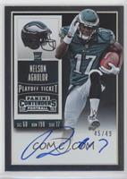 Rookie Ticket RPS - Nelson Agholor (Base) /49