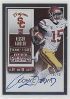 Rookie Ticket RPS - Nelson Agholor (College) /49