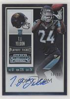 Rookie Ticket RPS - T.J. Yeldon (Base) #/99