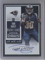 Rookie Ticket RPS - Todd Gurley (Team Logo) /30