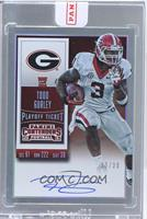 Rookie Ticket RPS - Todd Gurley (College) /30 [ENCASED]