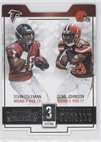 Duke Johnson, Tevin Coleman