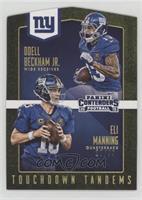 Eli Manning, Odell Beckham Jr. #/99