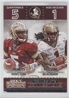 Jameis Winston, Kelvin Benjamin [Noted]