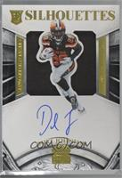Rookie Silhouettes - Duke Johnson [Noted] #/49