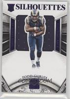 Rookie Silhouettes - Todd Gurley #/25