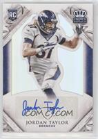 Rookie Signatures - Jordan Taylor /99