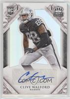 Rookie Signatures - Clive Walford /299