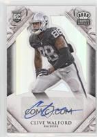 Rookie Signatures - Clive Walford #/299
