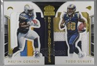 Melvin Gordon, Todd Gurley [Noted] #/25