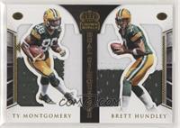 Ty Montgomery, Brett Hundley [EXtoNM] #/25