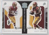 Jamison Crowder, Matt Jones #/10