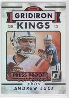 Gridiron Kings - Andrew Luck #/199