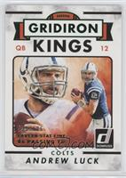 Gridiron Kings - Andrew Luck #/586