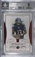 Kevin White [BGS9MINT] #/15