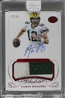 Aaron Rodgers /15 [ENCASED]