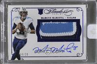 Marcus Mariota [Uncirculated] #/20