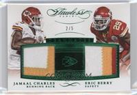 Jamaal Charles, Eric Berry /5