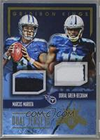 Dorial Green-Beckham, Marcus Mariota [Noted] #/49