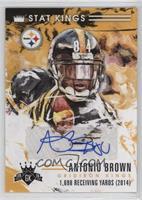 Antonio Brown #/25