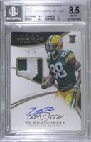 Rookie Patch Autographs - Ty Montgomery [BGS8.5NM‑MT+] #/25