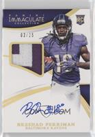 Rookie Patch Autographs - Breshad Perriman /25