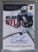 Rookie Patch Autographs - Dorial Green-Beckham #/1