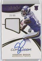 Rookie Patch Autographs - Stefon Diggs /99