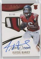 Rookie Patch Autographs - Justin Hardy /99