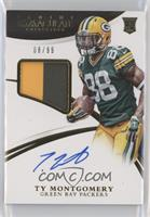 Rookie Patch Autographs - Ty Montgomery [EX to NM] #/99