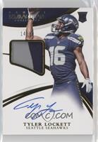 Rookie Patch Autographs - Tyler Lockett /99