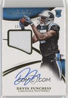 Rookie Patch Autographs - Devin Funchess #/99