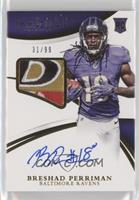 Rookie Patch Autographs - Breshad Perriman #/99