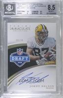 Jordy Nelson [BGS 8.5 NM‑MT+] #/36