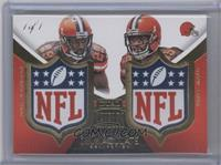 Vince Mayle, Duke Johnson /1
