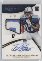 Rookie Patch Autographs - Dorial Green-Beckham #/17