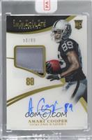 Rookie Patch Autographs - Amari Cooper [Uncirculated] #/89