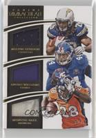 Andre Williams, Melvin Gordon, Montee Ball #/49