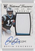 Rookie Autograph Patch (RPS) - Devin Funchess #/5