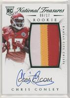 Rookie Autograph Patch (RPS Numbers) - Chris Conley #/17