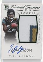 Rookie Autograph Patch (RPS Numbers) - T.J. Yeldon #/24