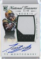 Rookie Autograph Patch (RPS Numbers) - Ty Montgomery /88