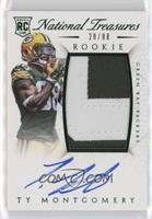 Rookie Autograph Patch (RPS Numbers) - Ty Montgomery #/88