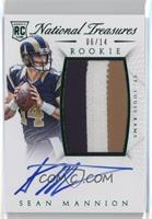 Rookie Autograph Patch (RPS Numbers) - Sean Mannion #/14