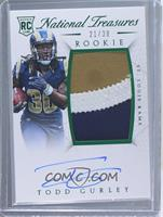 Rookie Autograph Patch (RPS Numbers) - Todd Gurley II #/30