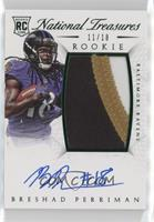 Rookie Autograph Patch (RPS Numbers) - Breshad Perriman /18