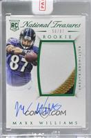 Rookie Autograph Patch (RPS Numbers) - Maxx Williams [Uncirculated] #/87