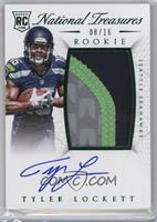 Rookie Autograph Patch (RPS Numbers) - Tyler Lockett #/16