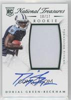 Rookie Autograph Patch (RPS Numbers) - Dorial Green-Beckham #/17